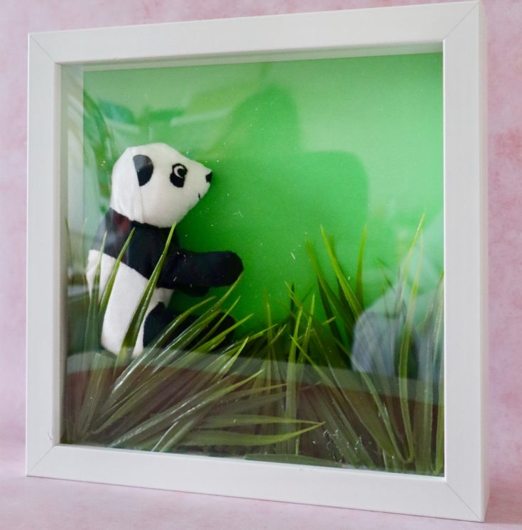 DIY Teddy Bear Shadow Box