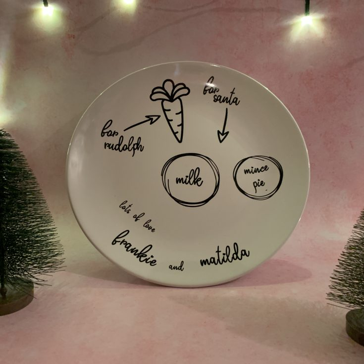 How To Make Christmas Eve Plate
