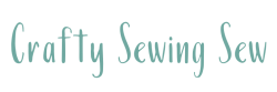 Crafty Sewing Sew