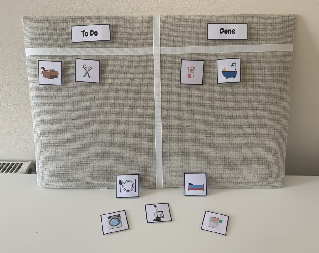 How to make a padded notice board