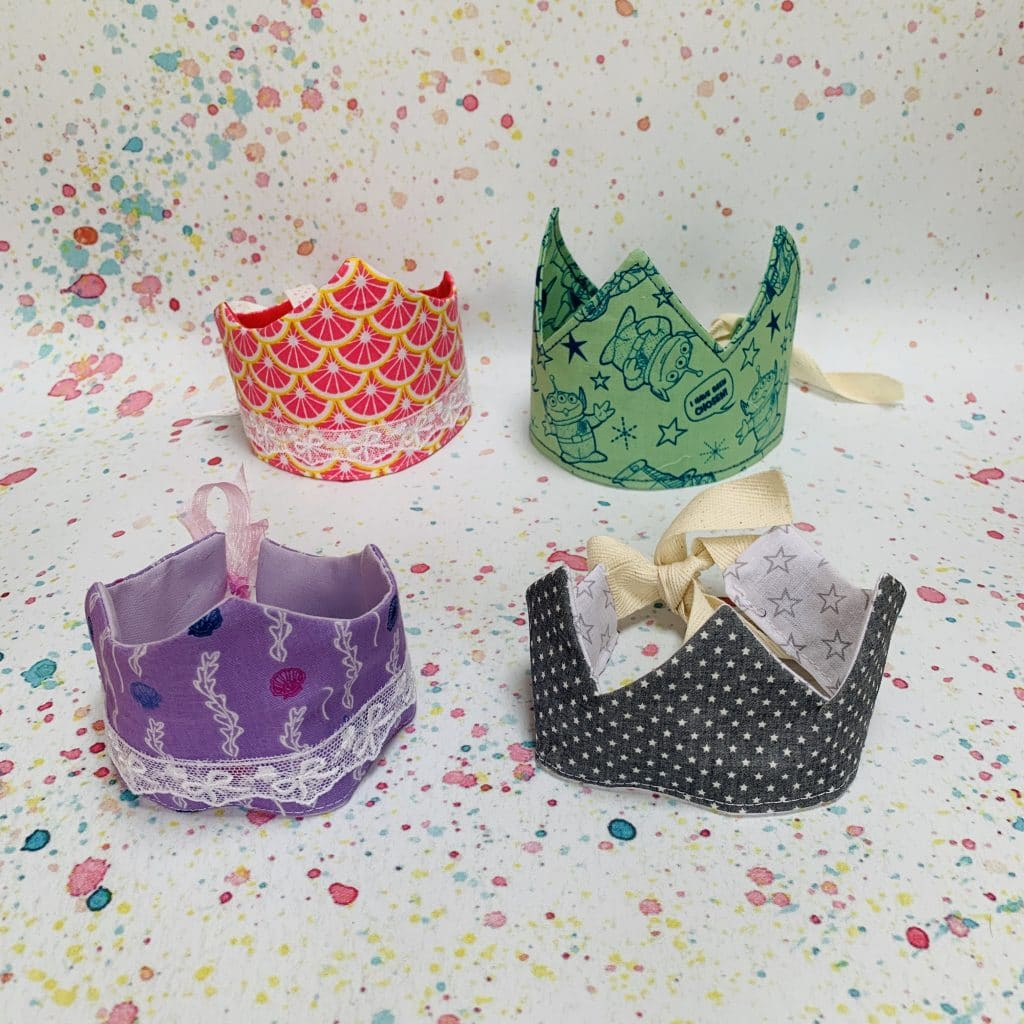 crafty Sewing Sew How To Make a fabric crown