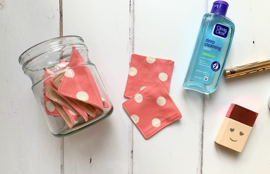 how to make reusable face wipes
