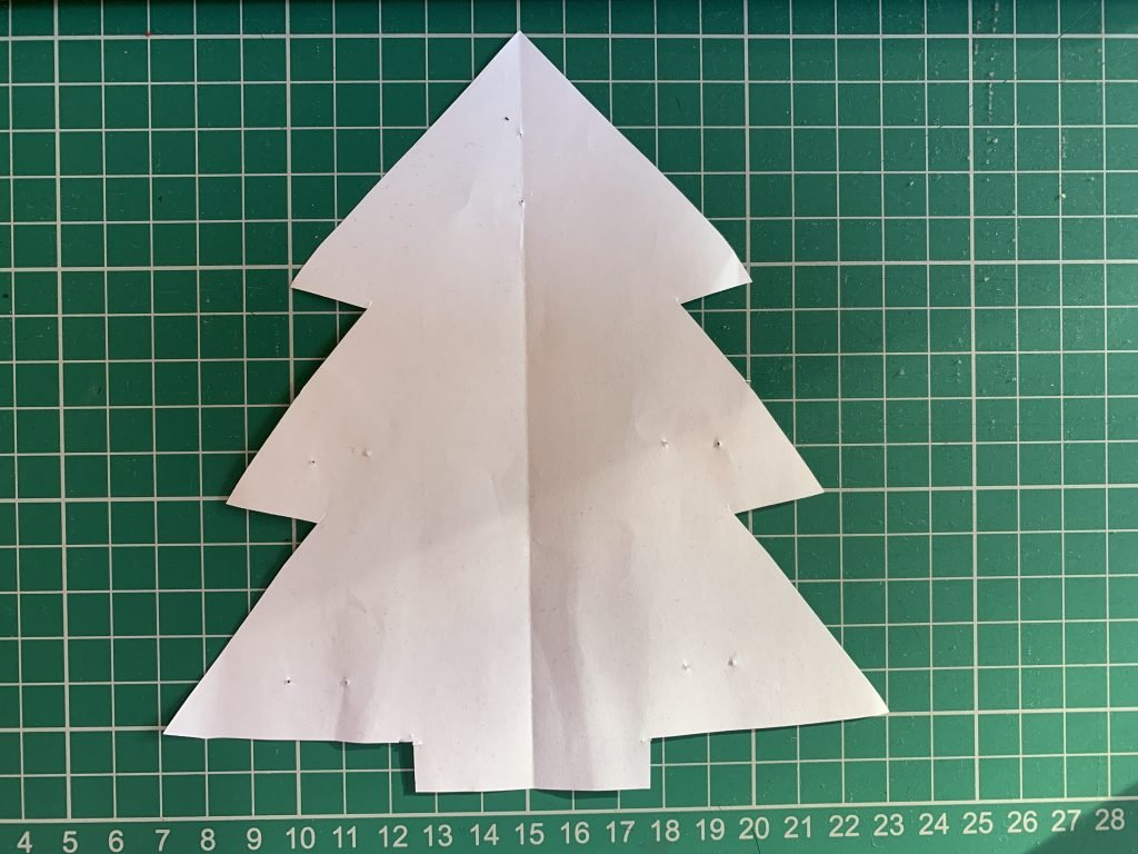 How To Make Christmas Tree Bunting