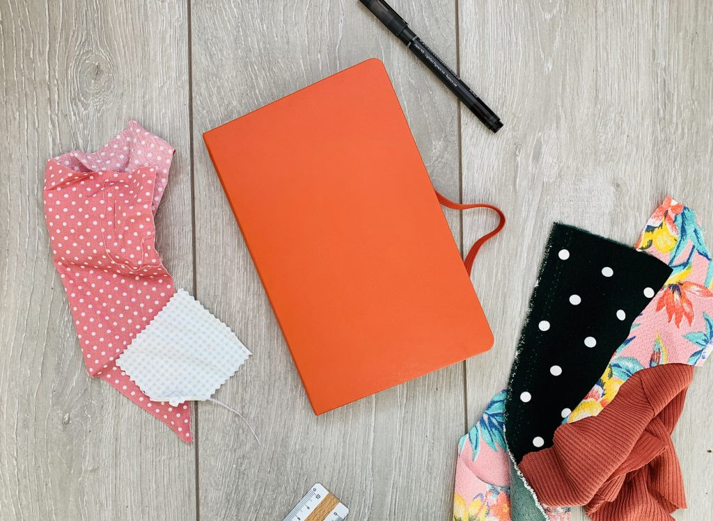 How To Make A Fabric Swatch Book
